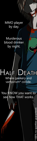 Where Geekery and vampirism collide.